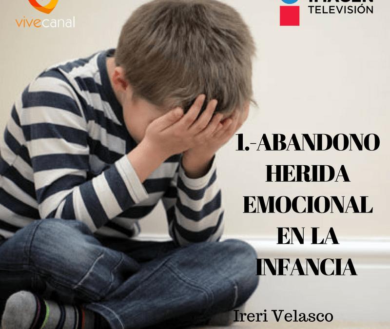 Abandono, herida emocional de la Infancia